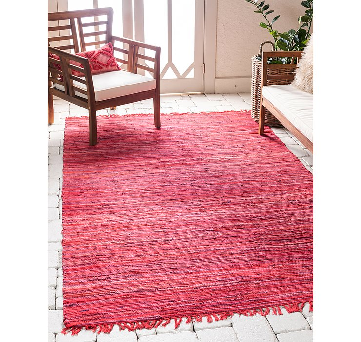 8' x 10' Chindi Cotton Rug