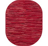 Link to 245cm x 305cm Chindi Cotton Oval Rug