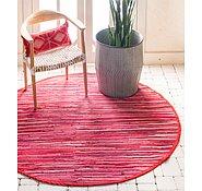 Link to 183cm x 183cm Chindi Cotton Round Rug