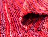 2' 7 x 9' 10 Chindi Cotton Runner Rug thumbnail