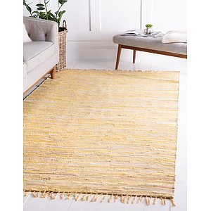 Link to 5' x 8' Chindi Cotton Rug item page