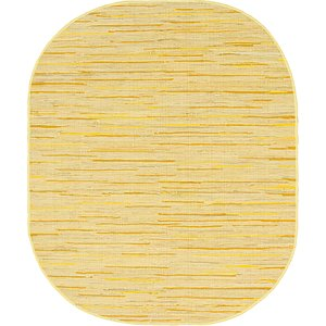 Link to 8' x 10' Chindi Cotton Oval Rug item page