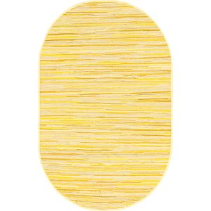 Link to 152cm x 245cm Chindi Cotton Oval Rug item page