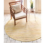 Link to 3' 3 x 3' 3 Chindi Cotton Round Rug