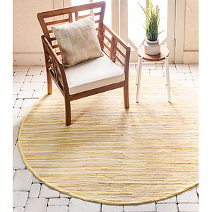 Link to 245cm x 245cm Chindi Cotton Round Rug item page
