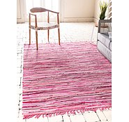 Link to 122cm x 183cm Chindi Cotton Rug