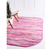 Link to 152cm x 245cm Chindi Cotton Oval Rug