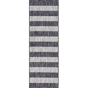Link to 2' x 6' Outdoor Striped Runner ... item page