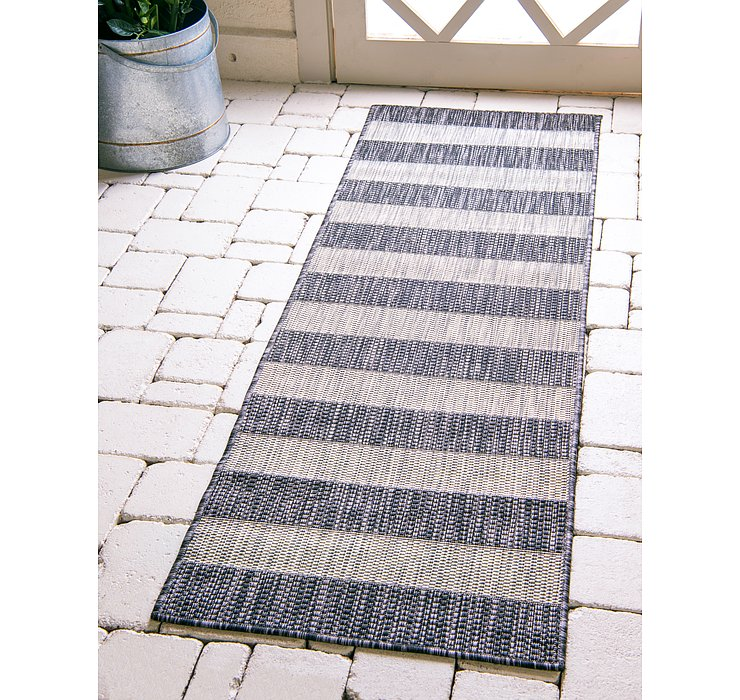 2' x 6' Outdoor Ribbon Runner Rug
