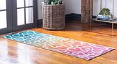 Jane Seymour 2' x 6' Open Hearts Runner Rug thumbnail image 2