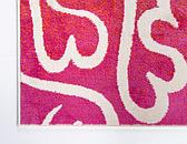Jane Seymour 2' x 6' Open Hearts Runner Rug thumbnail image 8