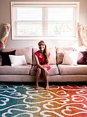 Jane Seymour 2' x 6' Open Hearts Runner Rug thumbnail image 10