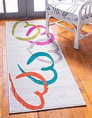 2' x 6' Open Hearts Runner Rug thumbnail