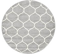 Link to 4' x 4' Trellis Frieze Round Rug