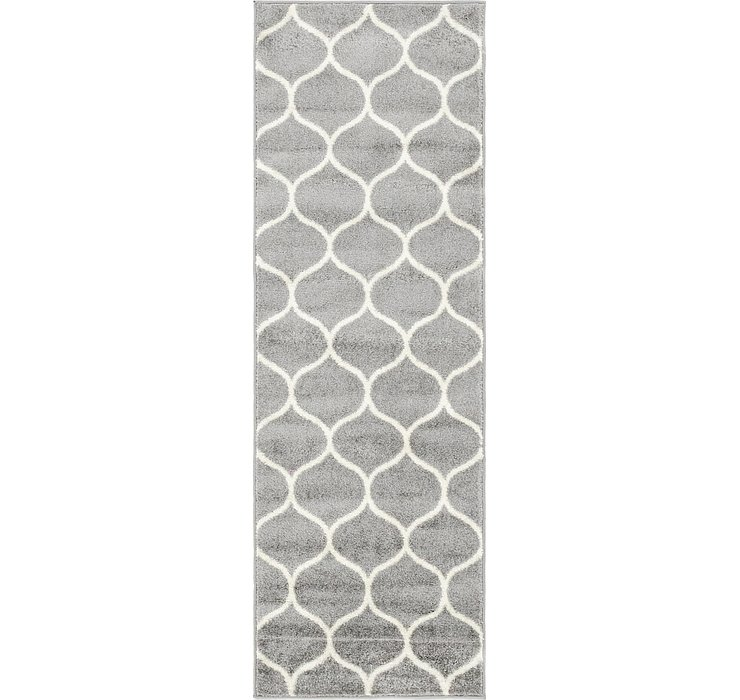 2' x 6' Lattice Frieze Runner Rug
