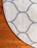 4' x 4' Lattice Frieze Round Rug thumbnail