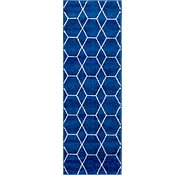 Link to 2' x 6' Trellis Frieze Runner Rug