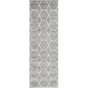 Link to 2' x 6' Trellis Frieze Runner Rug item page
