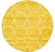 Link to 122cm x 122cm Trellis Frieze Round Rug