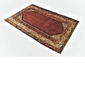 HandKnotted 3' 4 x 5' Botemir Persian Rug