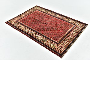HandKnotted 3' 7 x 5' Botemir Persian Rug