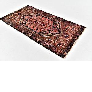 HandKnotted 3' 5 x 6' 4 Zanjan Persian Rug