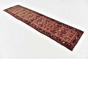 HandKnotted 2' 6 x 9' 10 Hossainabad Persian Run...