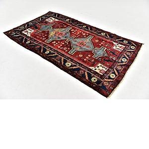 HandKnotted 4' x 7' 4 Hamedan Persian Rug