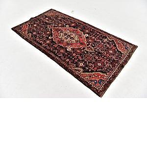 HandKnotted 3' 7 x 6' 10 Hamedan Persian Rug