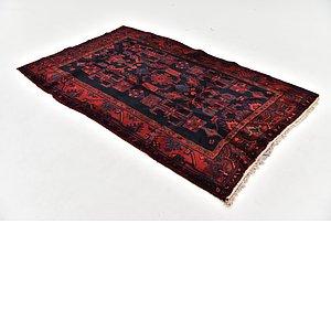 HandKnotted 4' 6 x 7' 4 Sirjan Persian Rug