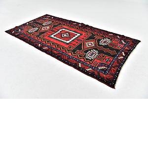 HandKnotted 4' 9 x 9' 6 Zanjan Persian Runner Rug