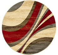 Link to 122cm x 122cm Coffee Shop Round Rug