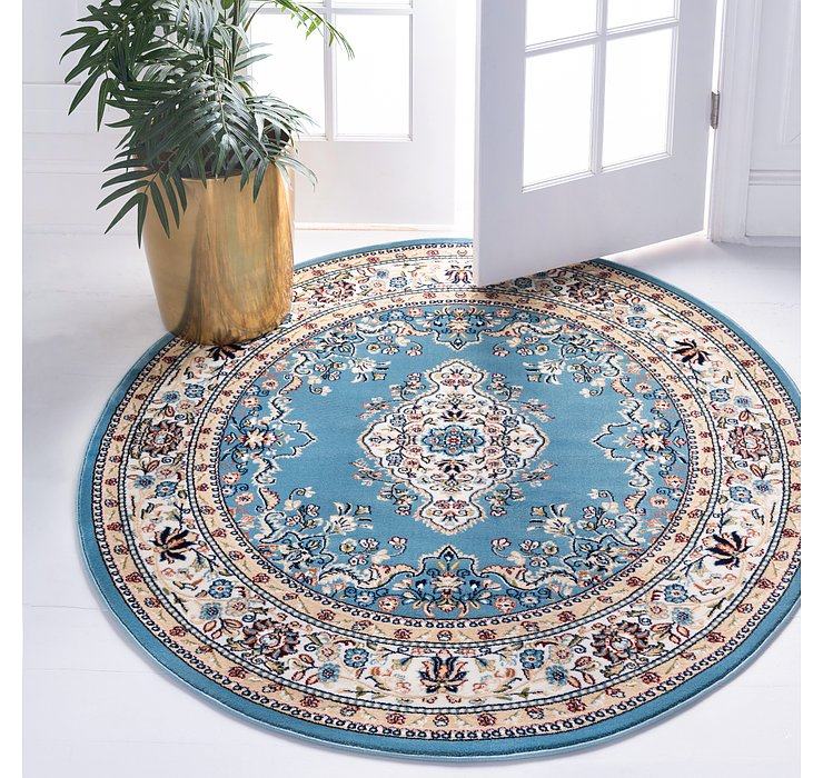 152cm x 152cm Nain Design Round Rug