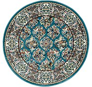 Link to 5' x 5' Nain Design Round Rug
