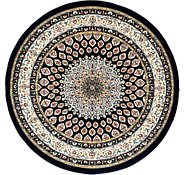 Link to 152cm x 152cm Nain Design Round Rug
