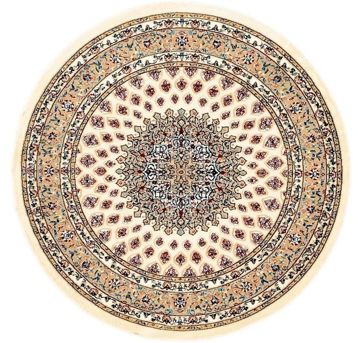 Ivory Rabia Round Rug