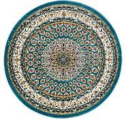 Link to 152cm x 152cm Nain Design Round Rug