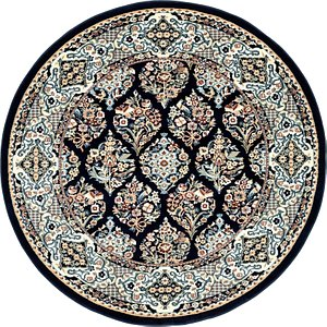 Link to 5' x 5' Nain Design Round Rug item page
