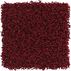 Link to 30cm x 30cm Solid Shag Sample Rug item page