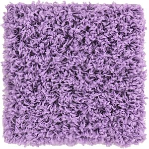 Link to 1' x 1' Solid Shag Sample Rug item page