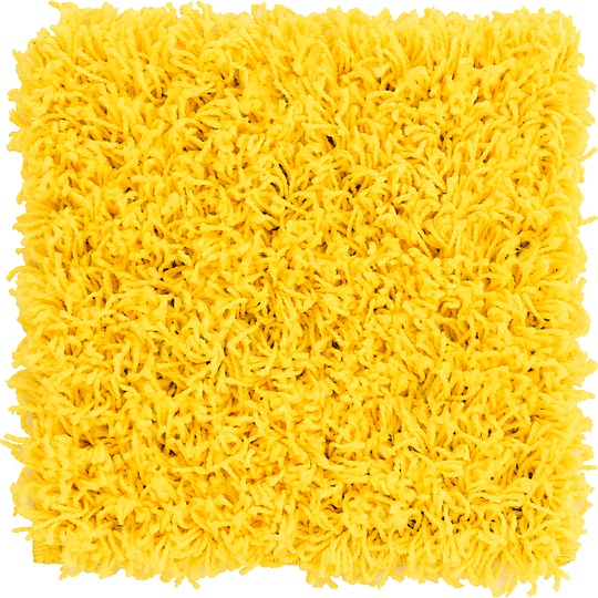 Tuscan Sun Yellow  1' x 1' Solid Shag Sample