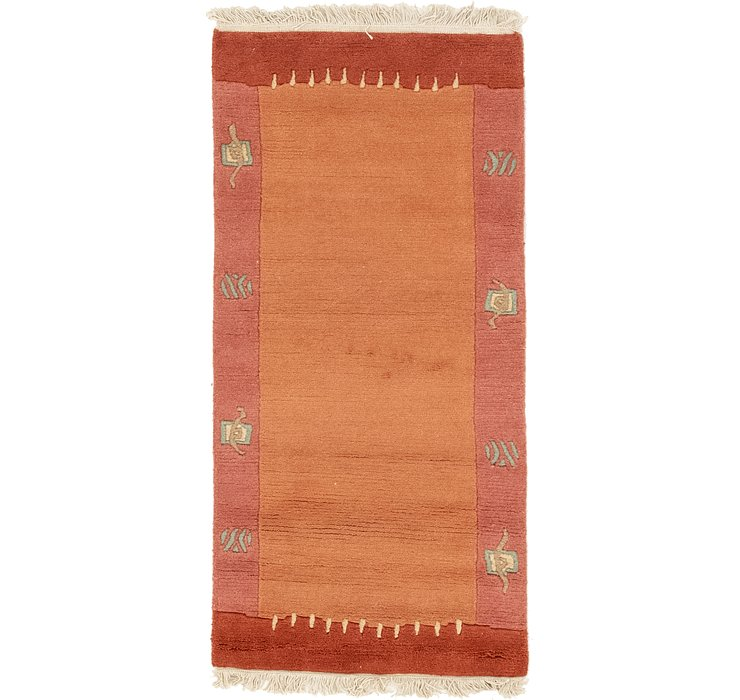 2' 5 x 4' 7 Modern Tibet Rug