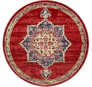 Link to 4' x 4' Arcadia Round Rug
