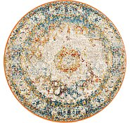 Link to 100cm x 100cm Venice Round Rug