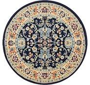 Link to 122cm x 122cm Kashan Design Round Rug