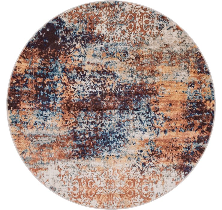 152cm x 152cm Ethereal Round Rug