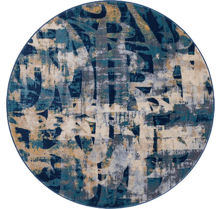 5' x 5' Ethereal Round Rug