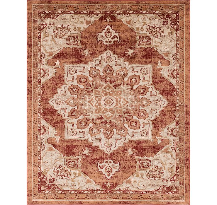 Rust Red Eden Rug