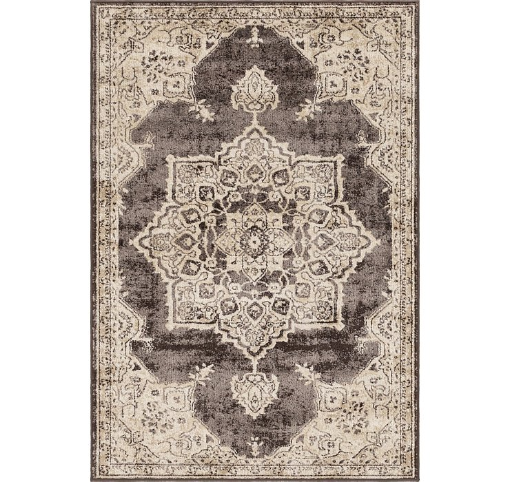 Brown Eden Rug