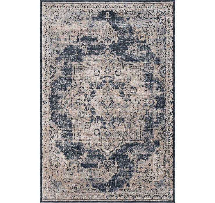 Navy Blue Eliza Rug